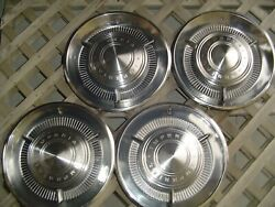 1960 Chrysler Imperial Crown Lebaron Coupe Hubcaps Wheel Covers Vintage Classic