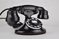 Western Electric 202 Rotary Dial Telephone With E1 Handset - Fully Restored