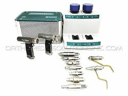ConmedLinvatecHall Power Pro Set With PRO5100 & PRO5300 Handpieces *Warranty*