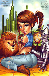 Grimm Fairy Tales Presents Oz Reign Of The Witch Queen 1 Ultra Rare Variant