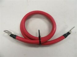 Pacer E157097 2/0 Awg Port Battery / Mpd Port Stud Electrical Wire 4and039 Ft Boat