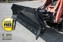Blue Diamond Trip Edge Snow Angle Blade Skid Steer Attachment 72