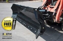Blue Diamond Trip Edge Snow Angle Blade Skid Steer Attachment 120