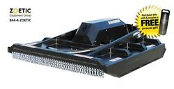 Blue Diamond Brush Cutter Skid Steer Attachment EX Closed Front High Flow 72