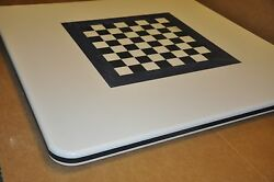 Corian Boat Rv Camper Motor Home Trailer Card Table Chess Checkers Game