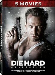 Die Hard Collection 5 Movies [new Dvd] Boxed Set