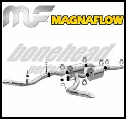 Magnaflow 15344 Mf Series Crossmember-back Exhaust System 1966-1977 Ford Bronco