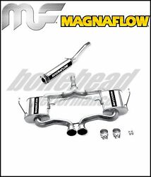 Magnaflow 16662 Touring Cat Back Exhaust 04-06 Mini Cooper S Supercharged 1.6l