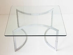 Henry Neuman Table Basse Carree Edition Pace Collection 1970 Vintage 70and039s