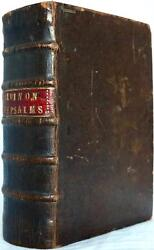 1571 1stED JOHN CALVINS COMMENTARY ON THE PSALMS OF DAVID AND OTHERS VERY SCARCE