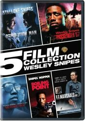 5 Film Collection Wesley Snipes [new Dvd] Boxed Set 3 Pack