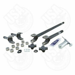 Usa Standard 4340 Chrome-moly Replacement Axle Kit For Jeep Tj Rubicon Dana 44