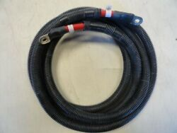Cobalt 2/0 Gauge Awg 11 Ft Red Port Engine Battery Switch Wire Harness Boat