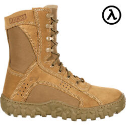 Rocky S2v 8 Usa-made Steel Toe Military Boots / Coyote Fq0006104 - All Sizes