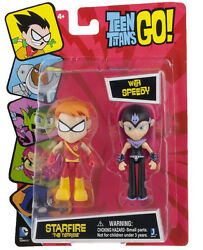 Teen Titans Go Starfire The Terrible With Speedy 2 Pack Figure Set