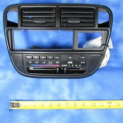 96-98 Civic Climate Control w Bezel & Vents S01-A5 HE29 OEM Missing Clips 834