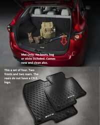 2017 - 2021 Mazda Cx-5 Cargo Tray And All Weather Floor Mats Set Of 4