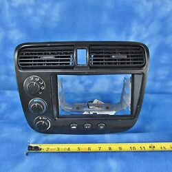 01-05 Honda Civic Climate Control w Bezel OEM Used Small Scratches on Bezel 113