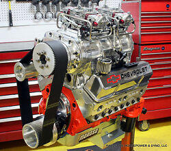 427ci Small Block Chevy Blown Pro-street Engine 825hp+ Built-to-order Dyno Tuned