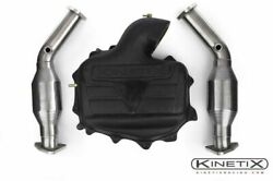 Kinetix Racing Intake Plenum And High Flow Catalytic Converters 350z And G35 Vq35de