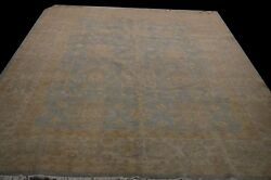 Extremely Durable Hand-knotted 8'x10' Vintage Look New Super Chobi Peshawar Rug