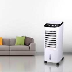 Portable Evaporative Air Cooler Fan Indoor Cooling Humidifier w Remote Control