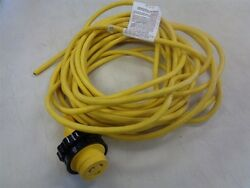 Marinco Shore Power Cord 49and039 Ft Yellow 12 Awg Gauge 300 Volt Marine Boat