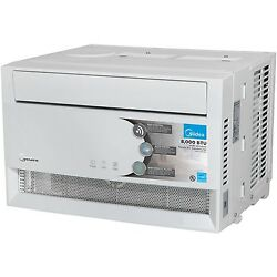 Midea 8000 BTU  Air Conditioner Ac Window With WiFi And Remote Control White