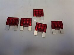 Buss Maxi Fuse 32 Volt 50 Amp Red Lot Of 5 Marine Boat