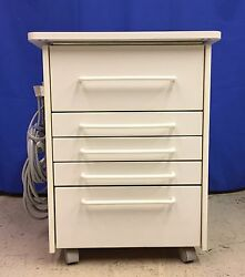 Mcc Dental Alabama Style Deluxe Mobile Cabinet - Many New Features Available