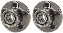 2 Rear Hub Bearing For 2001 Chrysler Pt Cruiser Fit Cars With Rear Drum Only