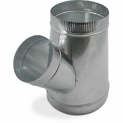 6x6x4 Single Wall Metal WYE for Connecting Duct Fittings Ventilation Branch