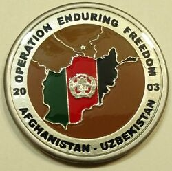 20th Special Forces Gp Airborne 2nd Bn Oef 2003 Army Challenge Coin
