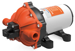 Seaflo Marine Variable Flow Water Pump With Bypass Valve 12 V 5.0 Gpm Boat 60psi