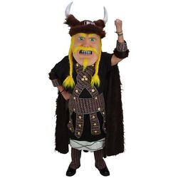 Loki the Viking Professional Quality Mascot Costume