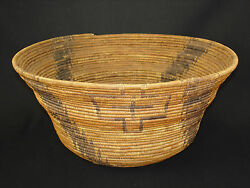 A Very Early And Tightly Woven Pomo Basket Native American Indian Circa 1895