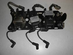 2002 200 Hp Mercury Optimax Outboard 3.0l Dfi Coil Plate Assembly Lot A15