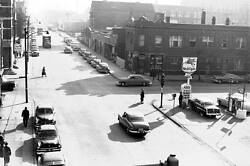 Photo. 1953-4. Chicago Illinois. Sky View South From Douglas L Station - Autos