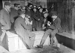 Photo. 1900s. Western Union Messenger Boys Playing Game of Poker $19.70