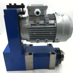 Spindle Unit MT5 BT40 Power Head Tool 1600rpm 4000rpm&3KW Motor Milling Drilling
