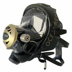 Ocean Reef Predator Extender Full Face Mask W/2nd Stage And Mercury Gsm Comm Sys