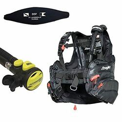 Zeagle Halo Bc W/atomic Ss1 Octo/inflator Free Ddf Slap Strap And Free Bc Hanger