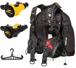 Zeagle Ranger Bcd W/octo Z Ii Octo/inflator Free Bc Hanger And Free Ddf Slap Strap