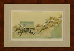 Valentine's Brook in the Grand National of 1932 by Paul Brown
