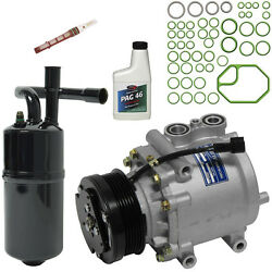 New AC Compressor Kit With Clutch AC for 04-05 Town Car