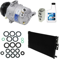 New AC Compressor Condenser Kit With Clutch AC for 04-05 Ion 2.0L-L4