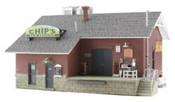 Woodland Scenics N Scale Built And Ready Chips Ice House Building Br4927