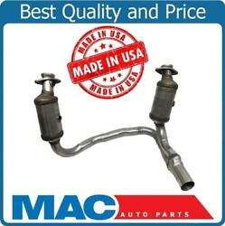 For 2010-2011 Dodge Dakota 3.7l Engine Y Pipe W Dual Catalytic Converters Usa