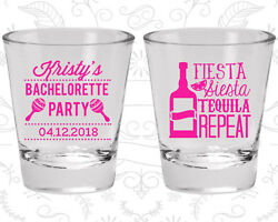 Bachelorette Party Shot Glasses 60002 Fiesta Siesta Tequila Repeat Mexican