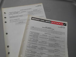 Honda Required Special Tools Factory Service Tool News 1984 Xr200r 6794-8312